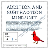 Addition and Subtraction Mini-Unit with Properties, Estima