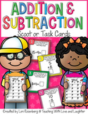 Addition and Subtraction {Mixed Equations} Scoot or Task Cards