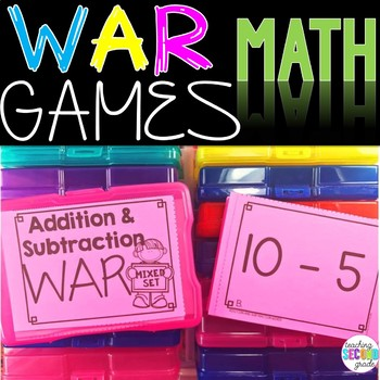 Addition and Subtraction (Mixed Practice) War Game