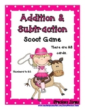 Addition and Subtraction Mixed Problems up to 20 - Cowgirl for Rodeo Time