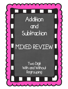 Addition and Subtraction Mixed Review