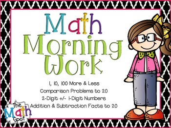 Addition and Subtraction Morning Work