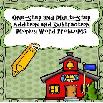 1st & 2nd Grade Money Word Problems (200 Problems)