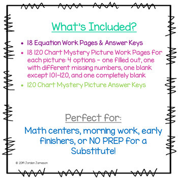 Addition and Subtraction Mystery Pictures GROWING Bundle