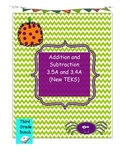Addition and Subtraction New TEKS