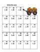 Addition and Subtraction-No Regrouping-Worksheets-Grade 2-Pumpkin Patch