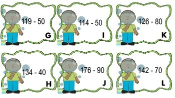 Addition and Subtraction Number Bonds and Place Value Disks