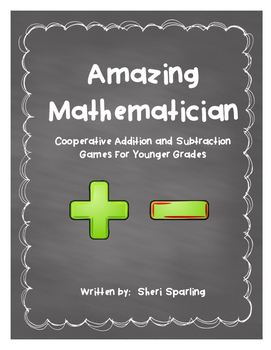 Addition and Subtraction Number Games
