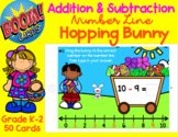 Addition and Subtraction   Number Line   Hopping Easter Bu
