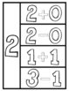 Addition and Subtraction Number Sort and Worksheets