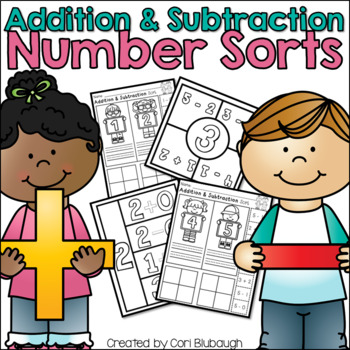 Addition and Subtraction Number Sort
