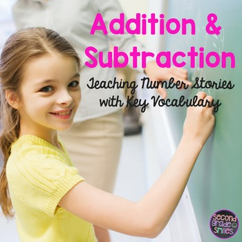Addition and Subtraction (Mixed Number Stories Teaching Ke