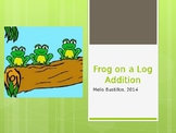 Frogs on a Log Number line (Addition and Subtraction)