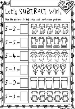 Addition and Subtraction Numbers 1 to 10 Worksheets in NSW ...