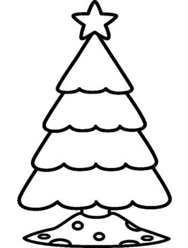 Addition and Subtraction Ornament Christmas Tree Craft