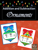 Addition and Subtraction Ornaments