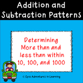Addition and Subtraction Patterns