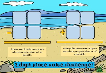 Addition and Subtraction Place Value Challenge.