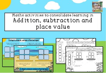 #ausbts18 Addition and Subtraction Place Value Challenge.