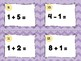 Addition and Subtraction Plus One Minus One Scoot or Task Cards
