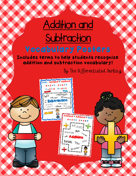 Addition and Subtraction Poster Bundle