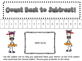 Addition and Subtraction Potpourri: Games for one and two digit regrouping