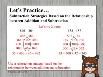 3rd Grade Addition and Subtraction