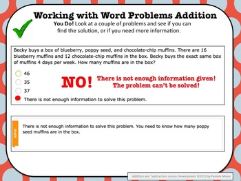 Addition and Subtraction PowerPoint and Student Notes Newly Revised