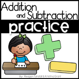 Addition and Subtraction Practice First Grade