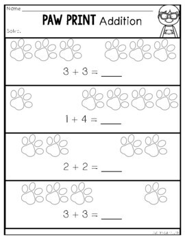 Addition and Subtraction Practice Pack {K.OA.1}