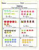 Addition and Subtraction Practice Sheets (Numbers 1-10)