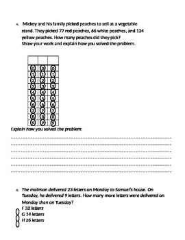 Addition and Subtraction Practice Test