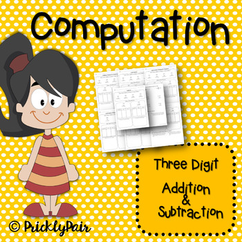 Addition and Subtraction Practice and Assessment Packet