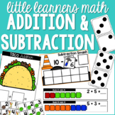 Addition and Subtraction Preschool, Pre-K, & Kinder - Math for Little Learners
