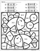Addition and Subtraction Worksheets- K.OA.1