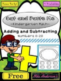 FREE Addition and Subtraction Printables for Kindergarten