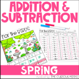 Addition and Subtraction Problems for Spring