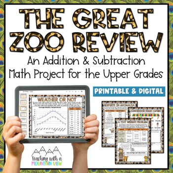 Addition and Subtraction Project