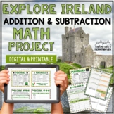 St. Patrick's Day Math Project