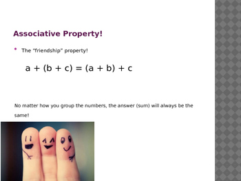 Addition and Subtraction Properties