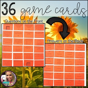 Candy Corn Math Addition and Subtraction Properties Third Grade Math Game
