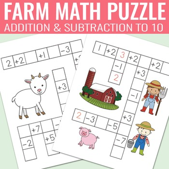 Addition and Subtraction Puzzle Worksheets