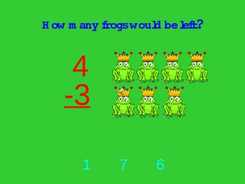 Addition and Subtraction Quiz Game Show