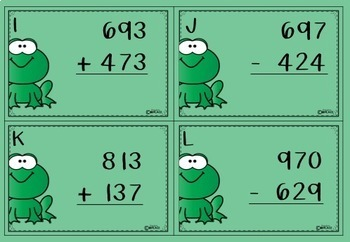 Addition and Subtraction - Read the Room