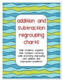 Addition and Subtraction Regrouping Charts