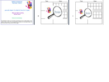 Addition and Subtraction Regrouping Template