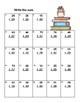Addition and Subtraction-Regrouping-Worksheets-Grades 2-3 CCSS-School Theme