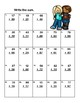 Addition and Subtraction-Regrouping-Worksheets-Grades 2-3 CCSS Tweens