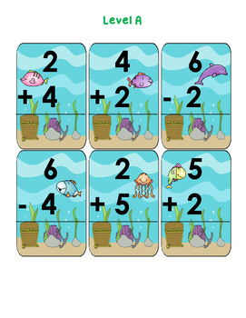 Addition and Subtraction Related Facts Go Fish!