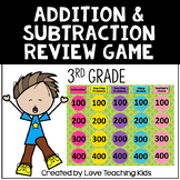 Addition and Subtraction Word Problems Review Game